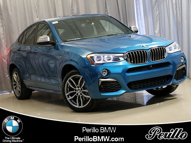 Certified Pre-Owned 2017 BMW X4 M40i M40i